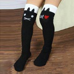 Girls Girls Light and Breathable Long Socks Maria D Miller Unisex Motley Crue Girls