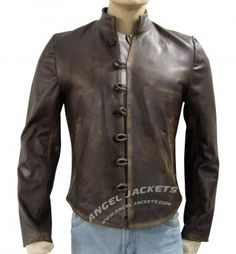 Da Vinci Jacket - Demons Leather Jacket with Free Shipping