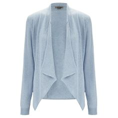 Jigsaw Seam Detail Cardigan , Pale Blue My lightest Energy colour and would work well in the summer months. £69