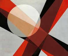 László Moholy-Nagy  A 19 1927  Oil on canvas, 830 x 990 mm   Collection Hattula Moholy-Nagy