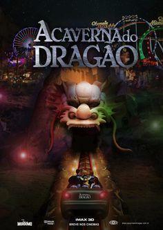 caverna do dragao filme poster