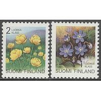 Finland - F Bruksserie V. Finland, Stamps, Decorative Boxes, Frame, Flowers, Seals, Picture Frame, Postage Stamps, Frames