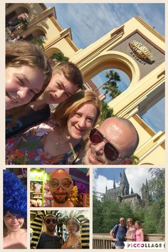 August 10th - a day round universal, parks, pool, cinema and city walk
