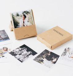 This Memories Box features up to 50 photos and makes for the perfect gift. The box to hold your most precious memories. Perfect as a gift for someone you love. Love Gifts, Diy Gifts, Foto Gift, Photography Packaging, Album Design, Diy Photo, Boyfriend Gifts, Photo Book, Paper Crafts