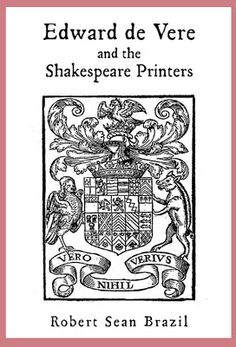 Brazil's Book Cover -- Shakespeare Printers