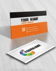 3420 green globe logo design free business card logo template 3d online puzzle logo free business card reheart Images