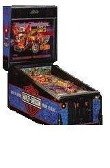 Pinball Machine Online for sale, Old and new, Harley Pinball machine, kiss pinball machines and many other pinball machines online