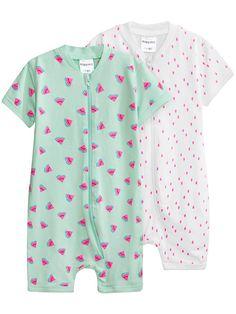 2-pack pyjamas, Grön, Kids - KappAhl