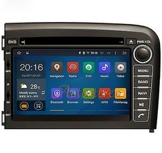"""﹩435.10. Android 7.1 Quad Core Car DVD CD Player GPS Navigation For Volvo S80 1999-2005   Features - Auxiliary Input, Screen Size - Double Din, OS - Android 5.1.1, Fit for - Volvo S80 1999-2005, Size - 7"""", Manufacturer Part Number - Does not apply, Operating System: - Android 7.1, Dual Zone: - Yes, listen to music/radio while watching gps map, Built-in WiFi Receiver - WIFI:, Compatible: - Volvo S80 1999-2005, Digital TV: - You can buy digital TV box to connect to unit to,"""