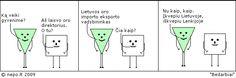 Bedarbiai - Keturkampis apskritimas lietuviški komiksai