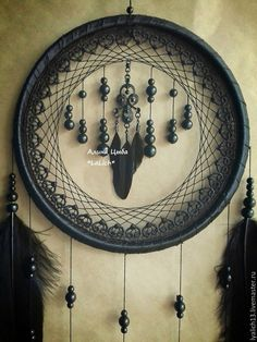 "Купить Ловец Снов ""Gothic Castle "" - красивые ловцы снов, необычный ловец снов Dream Catcher Art, Sun Catcher, Dreamcatchers, Dream Catcher Tutorial, Gothic Castle, Indian Arts And Crafts, Southwestern Art, Weaving Projects, Fall Crafts"