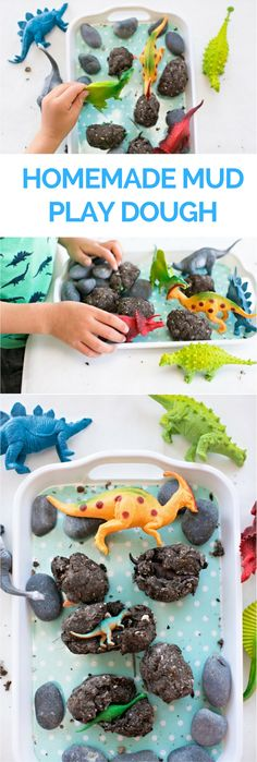 Homemade Mud Play Do