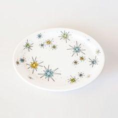 Cosmic Oval Plate | dotandbo.com