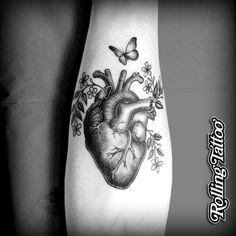tatuajes corazon anatomico - Buscar con Google