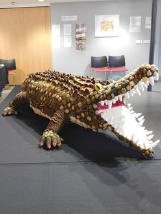 The Bristol Crochet Crocodile - Simply Crochet