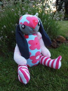 Bunny babygrow keepsake Dinosaur Stuffed Animal, Bunny, Homemade, Toys, Animals, Rabbit, Animales, Animaux, Hare