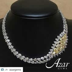 @azardiamonds. Just have a great weekend! #diamonds #jewelry #necklace #necklaces #pear #pearshape #marquise #marquises #lightfancy #fancy #fancyyellow #yellow #white