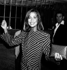 Lauren Hutton's iconic gap-toothed smile // photo credit: Ron Galella/WireImage