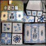 Delft Table Set