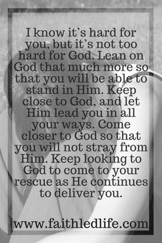 Faith Led Life - Building Confidence Through Encouragement and Inspiration Biblical Quotes, Scripture Quotes, Bible Scriptures, Wisdom Quotes, Keep The Faith, Faith In God, Spiritual Inspiration Quotes, Prayer And Fasting, Word Of Advice