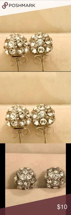 Brighton retired swarovski crystals earrings! Brighton retired swarovski crystals embedded post earrings! Brighton Jewelry Earrings