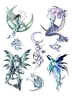 tribal fairy tattoo designs - Google Search