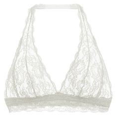 8bc16700af Cosabella Never Say Never Hippie Halter Bralette ( 56) ❤ liked on Polyvore  featuring intimates