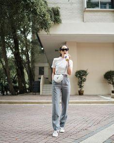 Blackpink Fashion, Korea Fashion, Daily Fashion, Fashion Outfits, Womens Fashion, Jeans Fashion, Chic Outfits, Trendy Outfits, Streetwear Jeans