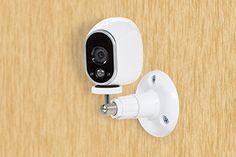 Smart Security Camera Adjustable Home Wall Mount Indoor Outdoor 360 Degree #Dropcessories