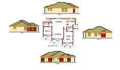 Call me here 0781036809 Round House Plans, Craftsman Style House Plans, Tumi, Kitchen And Bath, Ground Floor, Irish, Patio, How To Plan, Architecture