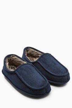 Next Apron-Slipper, hinten geschlossen für 22,00€. Obermaterial aus Textil, Design aus England, Get the Next Look bei OTTO