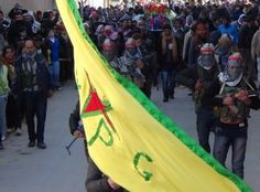 #PHOTO: (Mainly) Kurdish YPG troops from Syria. #Syria #SyrianCivilWar #YPG