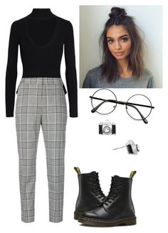 """Untitled #48"" by trash4fashion on Polyvore featuring Cushnie Et Ochs, Alexander Wang and Dr. Martens"
