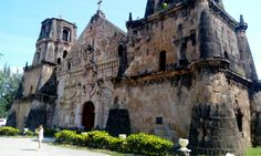 Miagao Church also known as the Miagao Fortress Church was completed in 1797 at Miagao, Iloilo. It is one of the oldest churches in the Philippines. It's a baroque romanesque style architecture with 1.5 meters thick walls that served as fortress against Muslim raids. Photo taken last July 17, 2016 using my HTC phone.