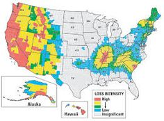 natural disaster map of usa google search
