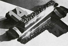Prospectus Bauhausbucher' by Làszlò Moholy-Nagy, Photograph: VG Bild-Kunst, Germany, from the Bauhaus-Archiv Berlin (Shadow Play) Art Nouveau, Art Deco, Halle, Art Bauhaus, Bauhaus Design, Laszlo Moholy Nagy, Art Gallery, Design Art, Graphic Design