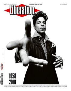 Libération. Mort de Prince. 22 avril 2016