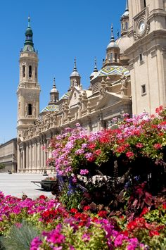 The Basilica of Our Lady of the Pillar, Zaragoza, Spain