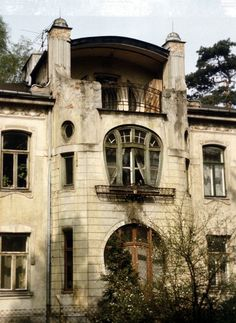 Abandoned Art Nouveau mansion in Konstancin-Jeziorna, Piaseczno ...
