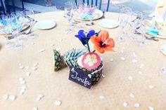Centros de mesa para la boda de CyR by Presume de Boda!! Tarifa Style Wedding