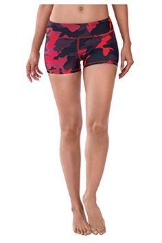 7e177f0102664 WITH Women s Tight Shorts Urban Camo Red Small. Fashion Clothes