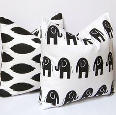 Decorative Pillow Covers Throw Pillow Covers by FestiveHomeDecor,
