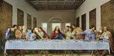Printfinders The Last Supper by Leonardo da Vinci Framed Painting Print Frame Color: Maple Wood, Mat Color: White Painting Frames, Painting Prints, Paintings, Framed Art Prints, Wall Art Prints, 1 Point Perspective, Last Supper, Wall Spaces