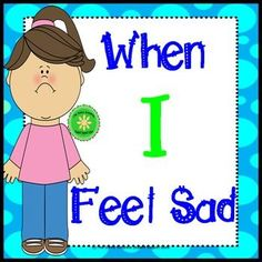 A simple, short, cute story about feeling sad and with coping strategies for students to use to feel better. This story is intended for use to help…