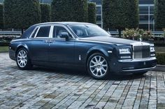 Rolls Royce Phantom Metropolitan Collection Front Side View