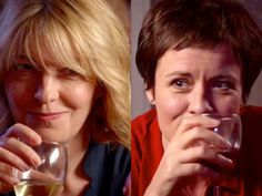 Holby City (18/41) Bernie (Jemma Redgrave) and Serena (Catherine Russell)