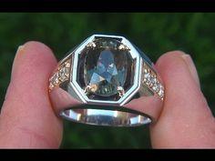 Mens Diamond Jewelry, Gold Jewelry, Bridal Ring Sets, Bridal Rings, Blue Sapphire Rings, Sapphire Diamond, Unique Mens Rings, Rings For Men, Mens Ring Designs