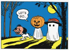 Peanuts Halloween with Snoopy and Charlie Brown Snoopy Halloween, Charlie Brown Halloween, Halloween Eve, Halloween Quotes, Halloween Pictures, Vintage Halloween, Happy Halloween, Halloween Ideas, Halloween Costumes
