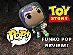 bd4685455dd Disney Pixar Toy Story Buzz Lightyear  169 Funko Pop Review!! - YouTube