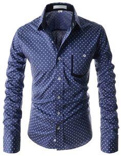 "The ""Warner"" Triangle Pattern Dress Shirt"